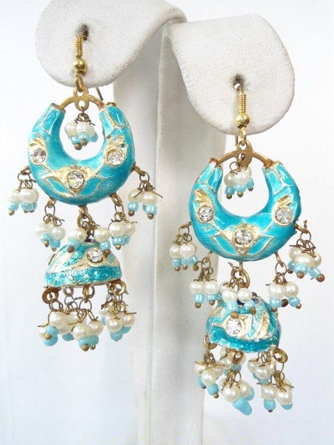 Lac Earrings In Egypt - Egypt Lac Earrings, Lac Jewelry
