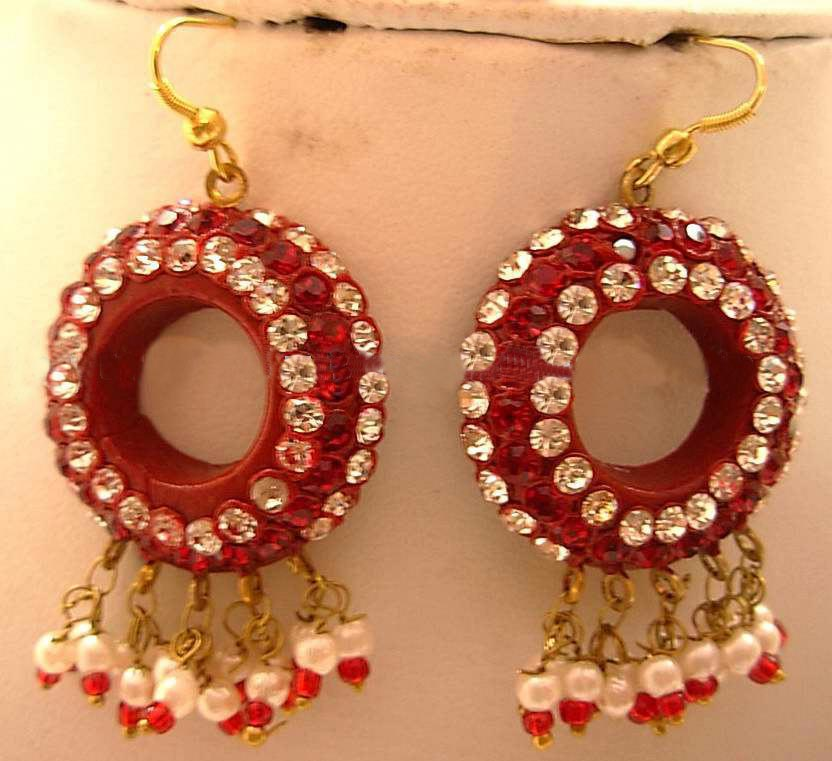 Lac Earrings In Korea - Korea Lac Earrings, Lac Jewelry
