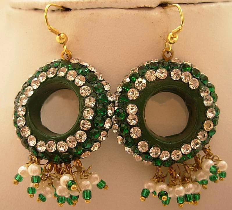 Lac Jewelry - Lakh Jewelry , Lac Earrings