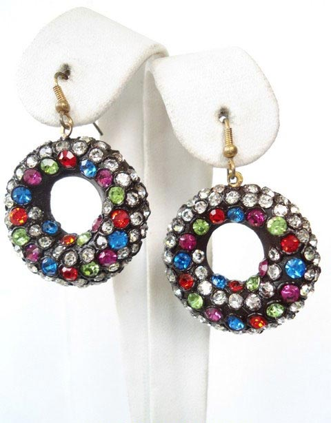 Lac Earrings - Lac Earrings Manufacturers, Lac Earrings Exporters