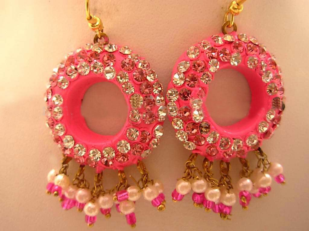 Lac Earrings - Lac Earrings Exporter,Lac Earrings Manufacturer,India