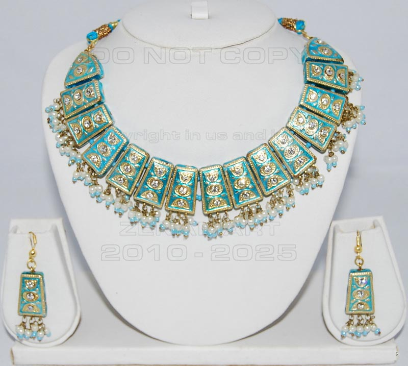 Lakh Jewelry Sets - Lac Necklace Set