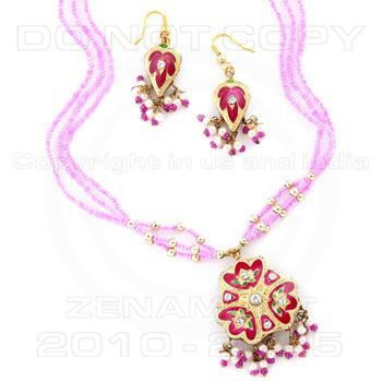 Designer Pendants Sets - Designer Lakh Pendants Sets