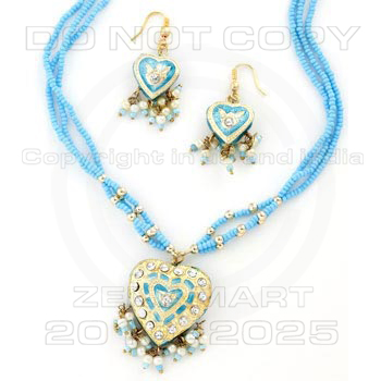 Colorful Pendants Sets - Colorful Lakh Pendants Sets