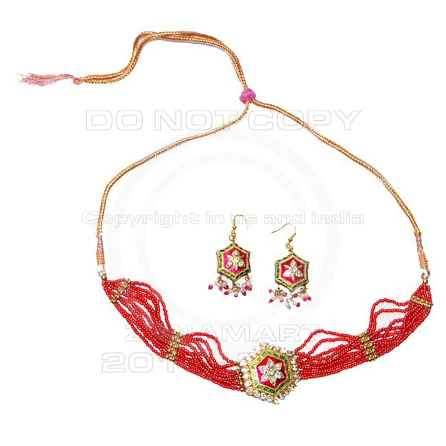 Indian Lakh Pendants Sets