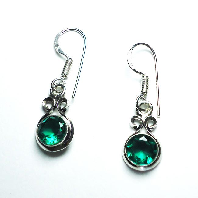 Alexandrite Gemstone Earrings