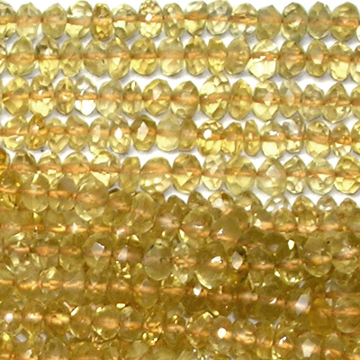 Wholesale Citrine Beads - Citrine Gemstone Beads Lots